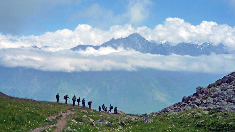 Wandern im wilden Kaukasus. © Diamir