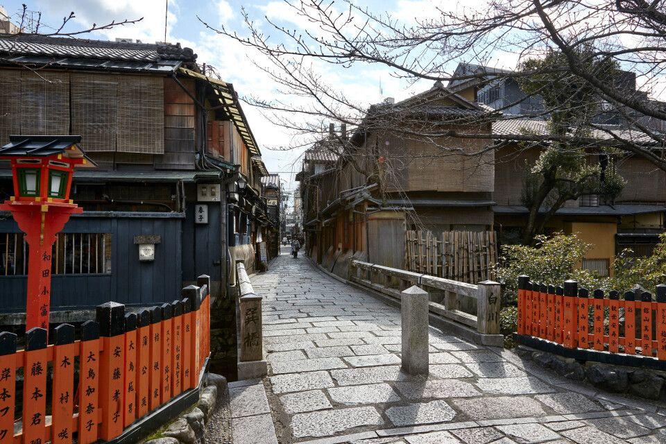 Altstadtviertel Gion in Kyoto