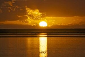 Sonnenuntergang Rarotonga