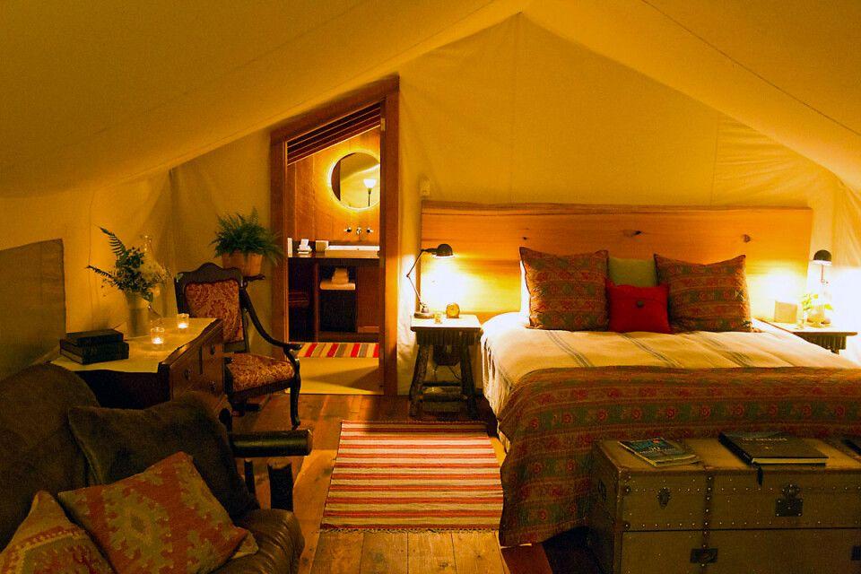 Hauszelt im Clayoquot Wilderness Resort