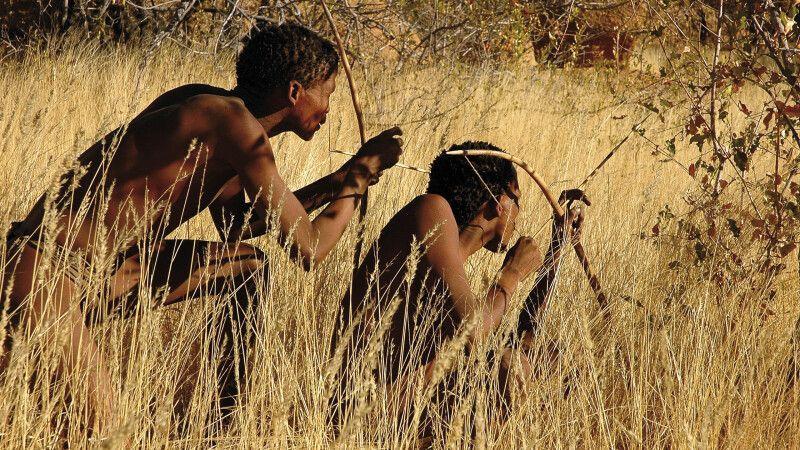 Buschmänner in der Kalahari © Diamir