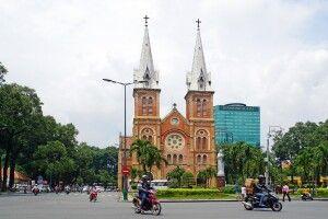 Kirche Notre Dame in Saigon