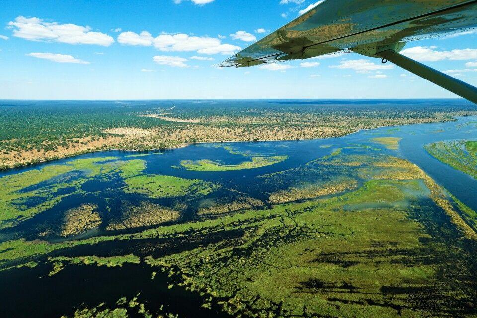 Fly-in im Okavango Delta
