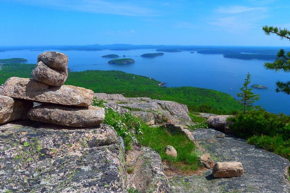 Frenchman Bay View, Acadia NP, Maine