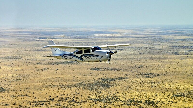 Fly In im Okavango Delta © Diamir