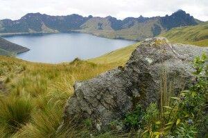Die zauberhafte Laguna Mojanda am Fuya Fuya