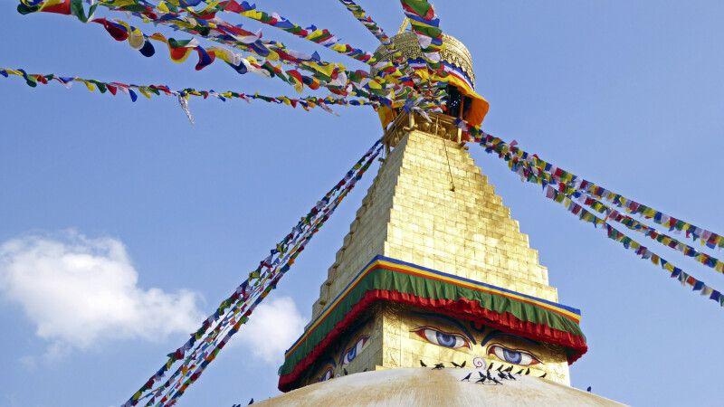 Boudhanath in Kathmandu © Diamir