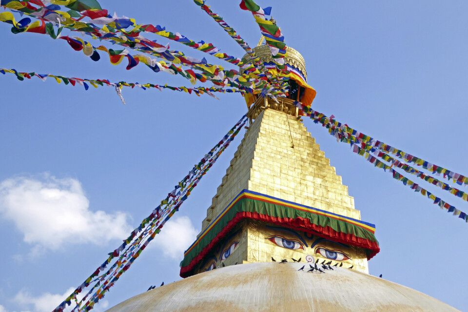 Boudhanath in Kathmandu