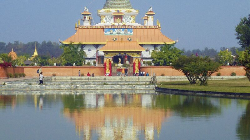 Tempel in Lumbini © Diamir