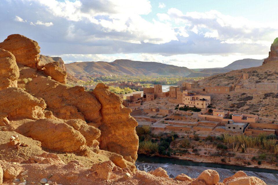 Lanschaft in Marokko