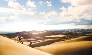 Great Sand Dunes in Colorado