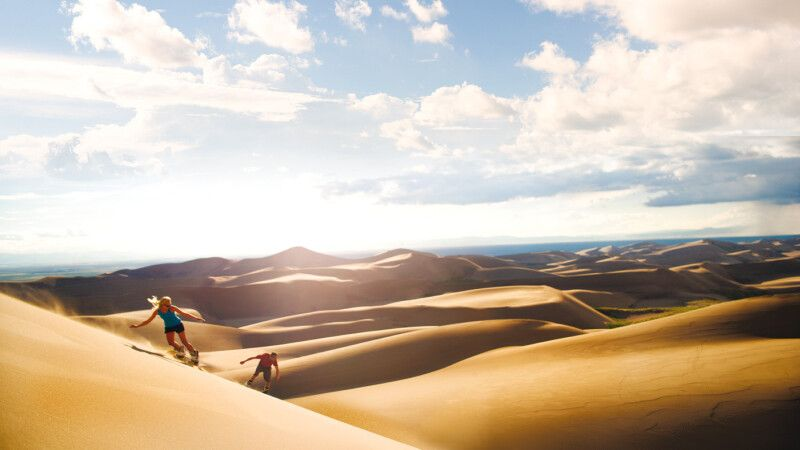 Great Sand Dunes in Colorado © Diamir