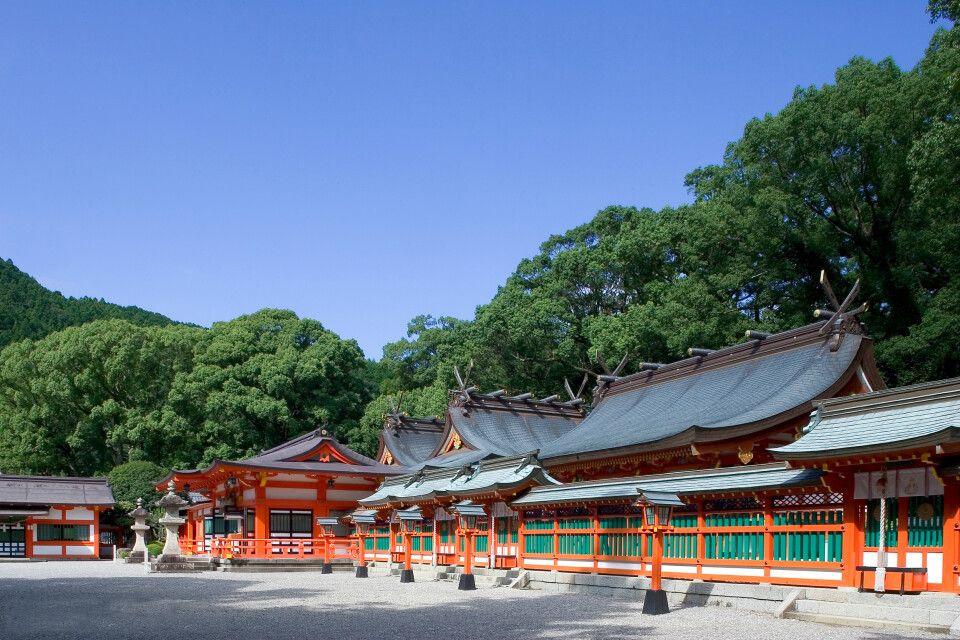 Am Shinto Schrein Kumano Hayatama Taisha