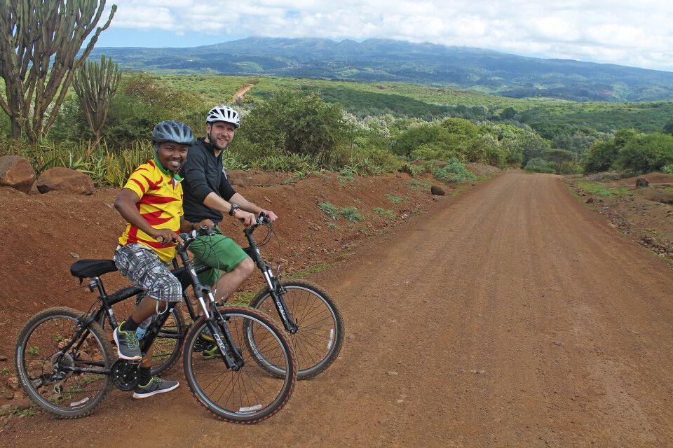 Unterwegs auf Fahrradtour