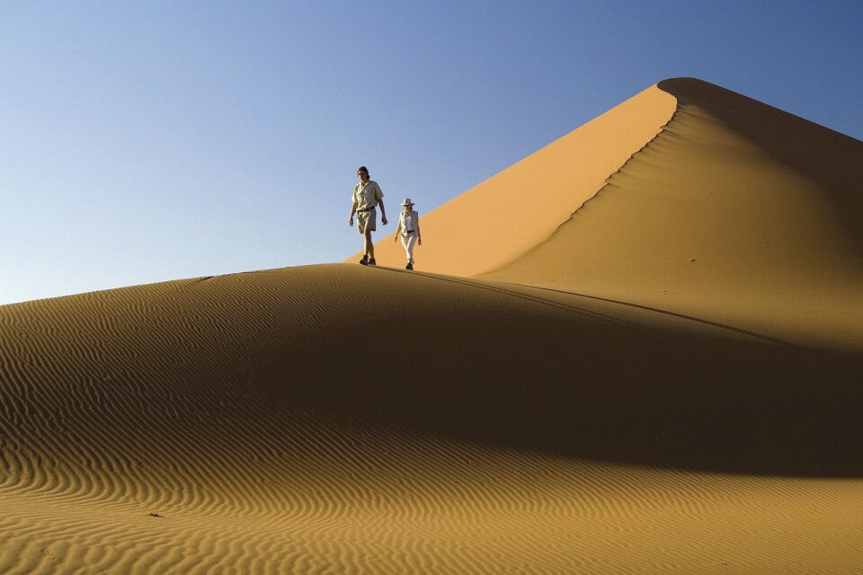 Wanderung entlang der Dünen des Sossusvleis