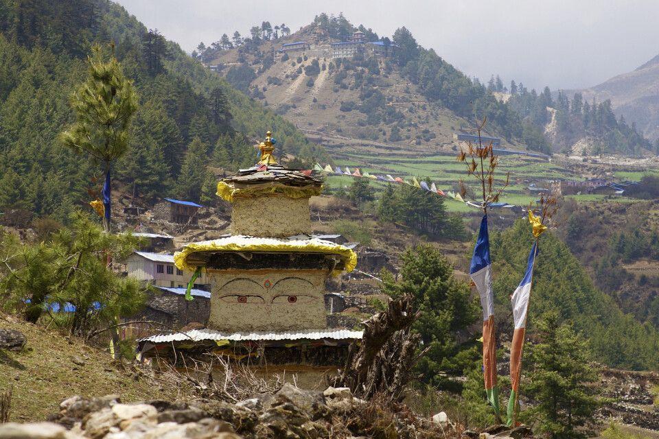 In der Nähe des Klosters von Lho