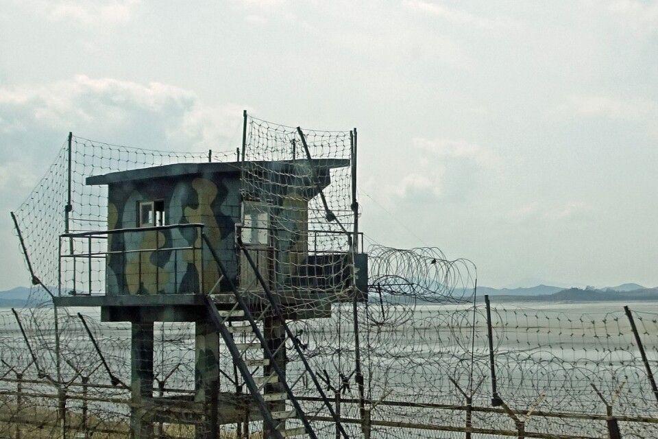 Nordkoreanische Grenze