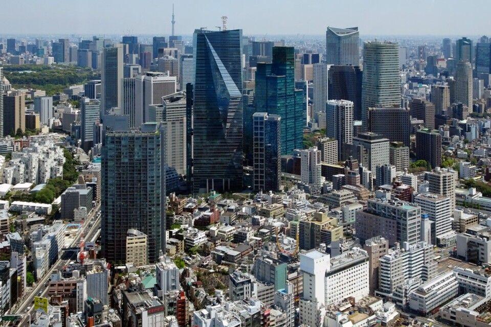 Japan Skyline Tokio
