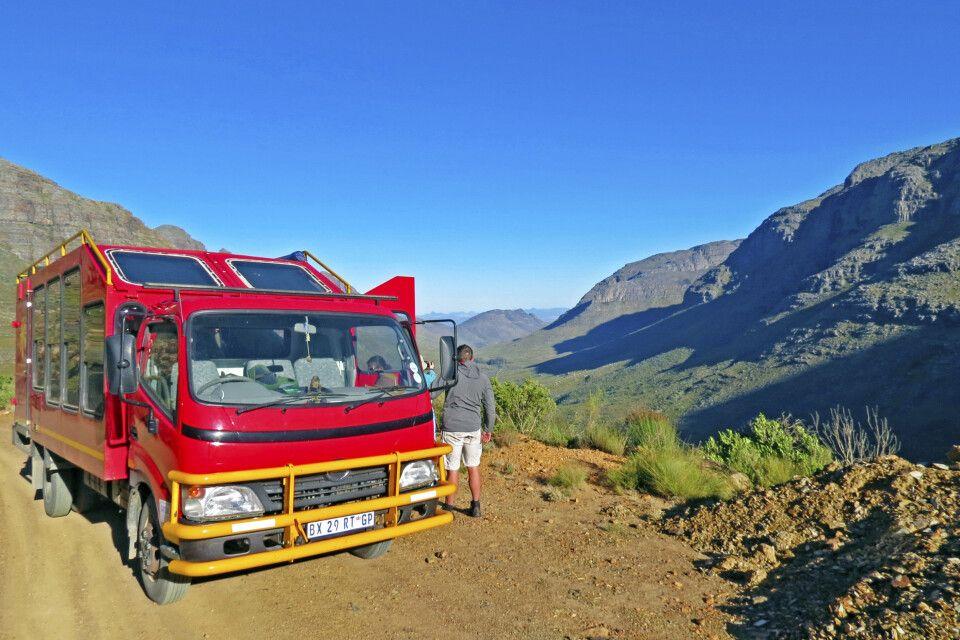 Mit dem Safaritruck durch die Zederberge