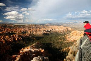 Blick über den Bryce Canyon, Utah