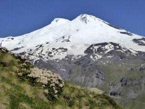 Doppelgipfel des Elbrus