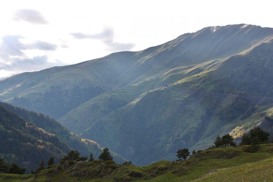 Atemberaubende Berglandschaften