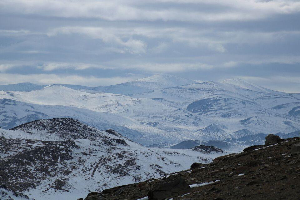 Bergregion an der Chinesischen Grenze