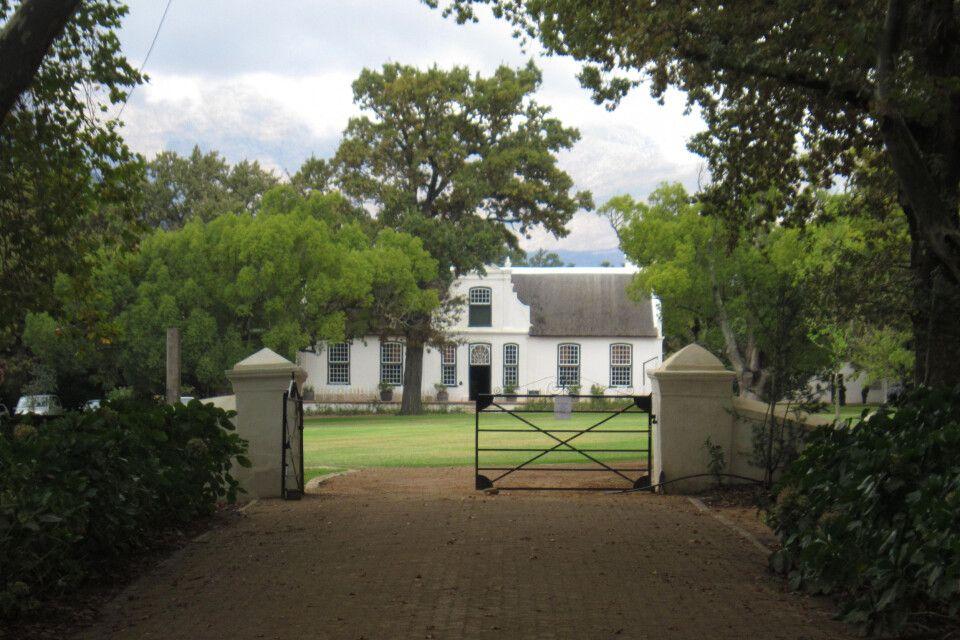 In der Weinregion um Stellenbosch