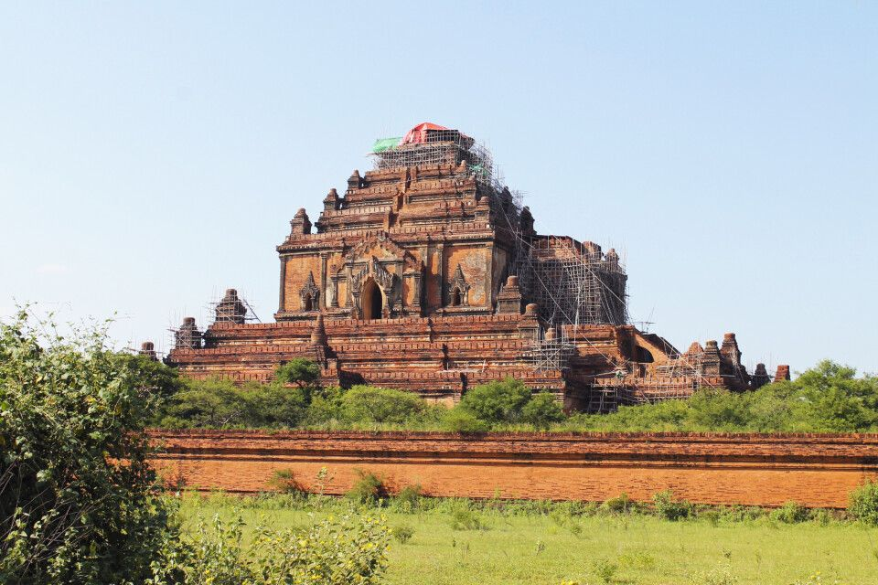 Die große Sulamani-Pagode in Bagan