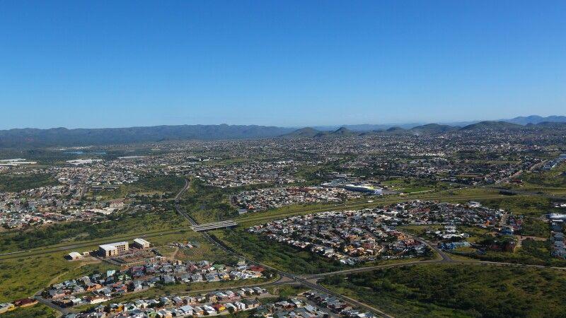 Blick über Windhoek © Diamir