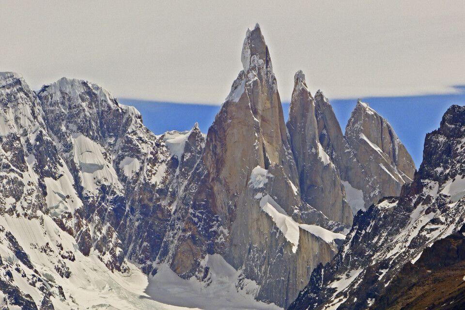Die berühmte Felsnadel Cerro Torre