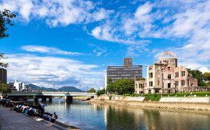 Atombomben-Kuppel in Hiroshima
