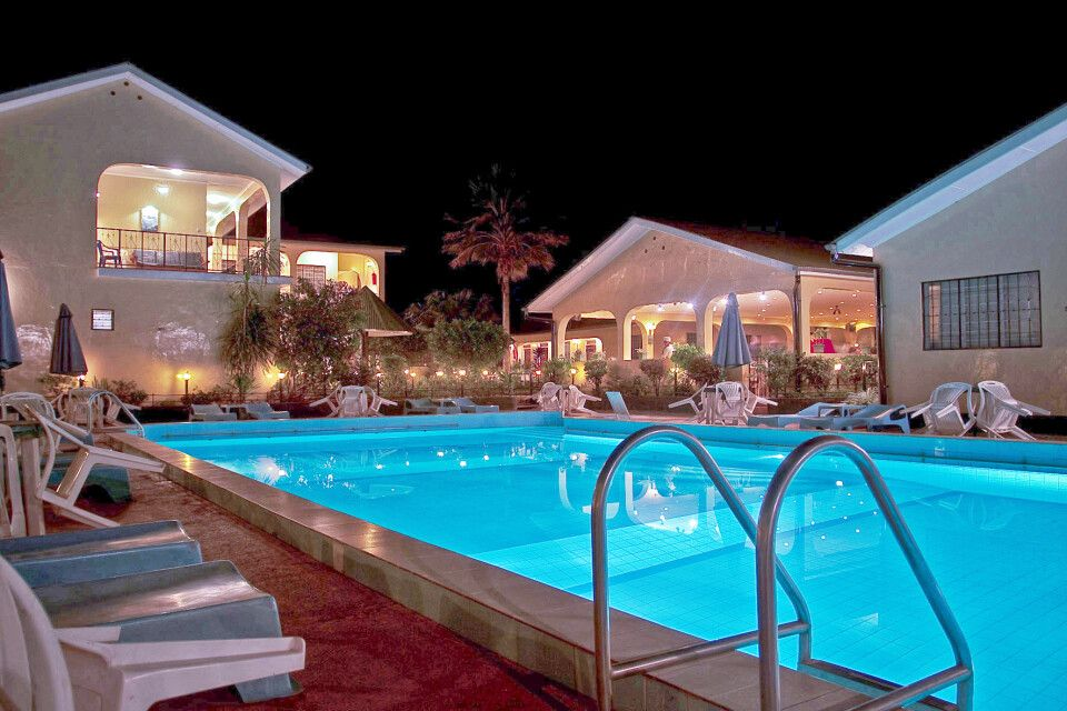 Pool im Springlands Hotel