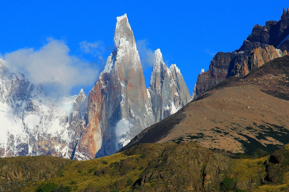 Felsnadel Cerro Torre im Nationalpark Los Glaciares