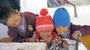 Ladakh Nubra Valley Schule in Digar