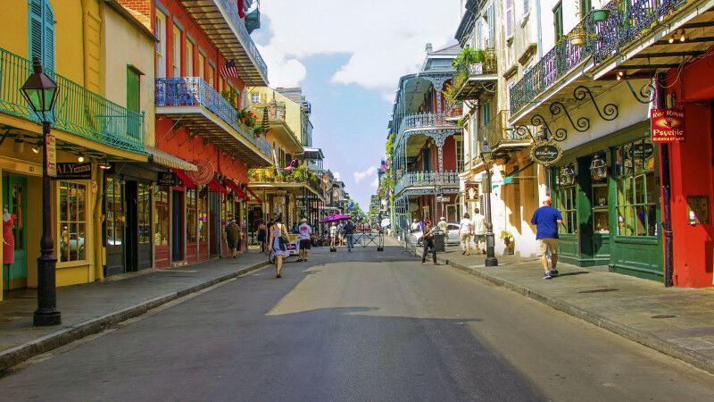 Royal Street, French Quarter, New Orleans, Louisiana © Diamir