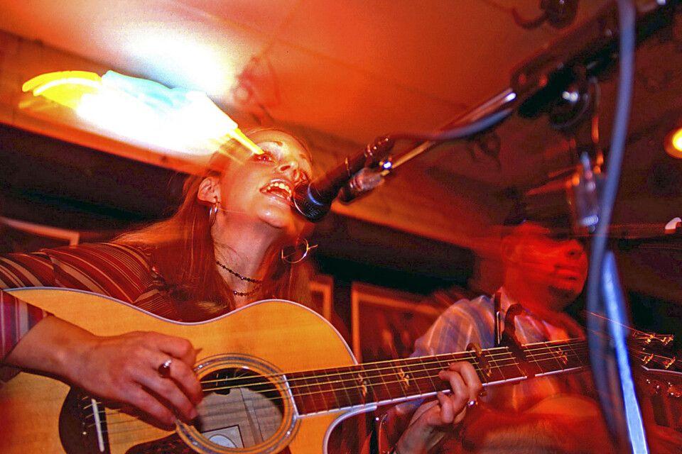 Livekonzert, Bluebird Cafe, Nashville, Tennessee
