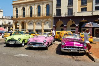 Oldtimer in Havanna