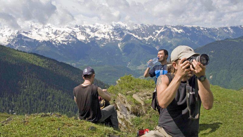 Pause am Guli-Pass (3000m) © Diamir
