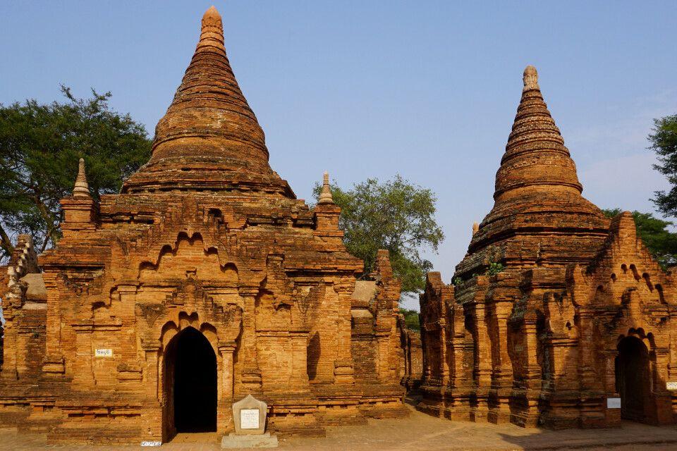 Unterwegs im Pagodenfeld von Bagan