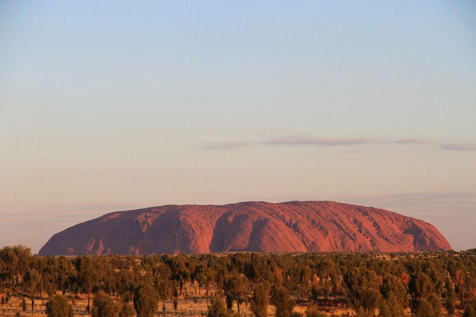 Uluru im Sonnenuntergang – Eine etwas andere Perspektive