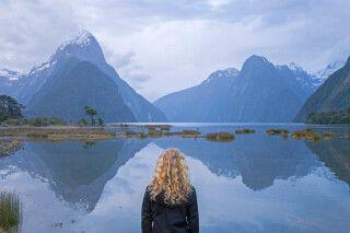 Fjord Milford Sound, Neuseeland