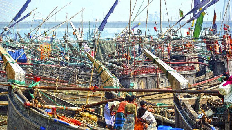 Fischereihafen Chittagong © Diamir