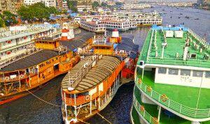 Old Dhaka Hafen