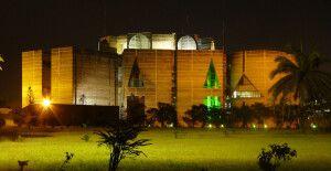 Dhaka Parlamentsgebäude