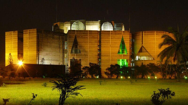 Dhaka Parlamentsgebäude © Diamir