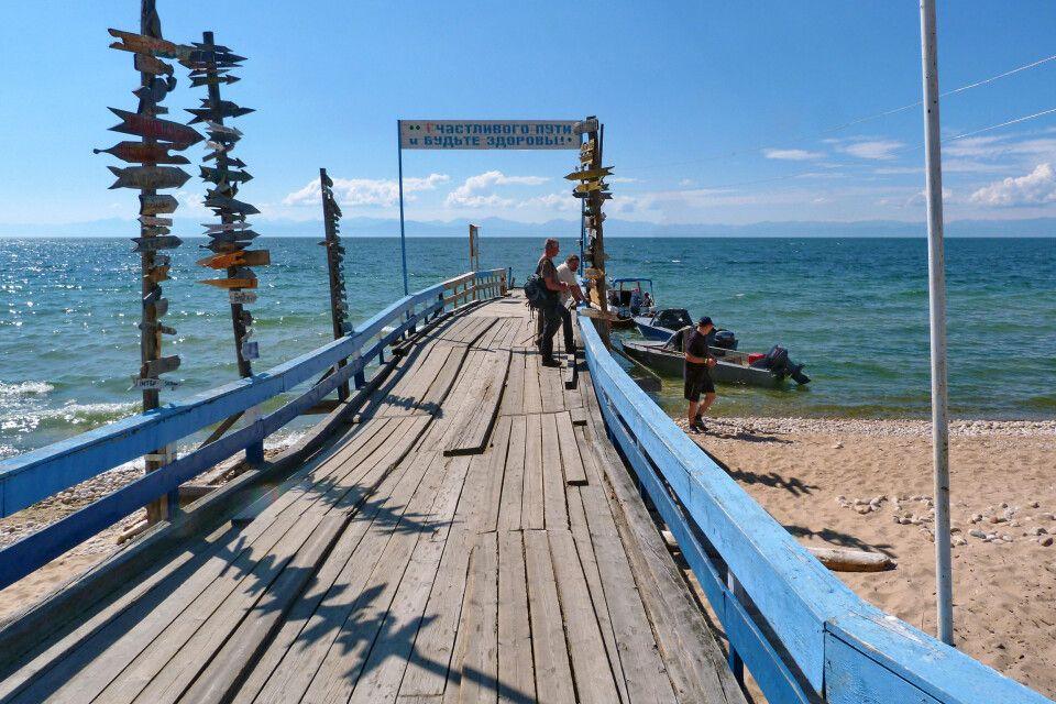 Fähranlegestelle Baikal