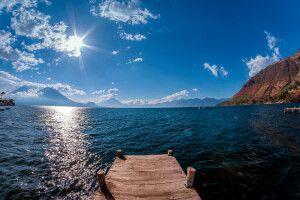Atitlan-See, schönster See der Welt