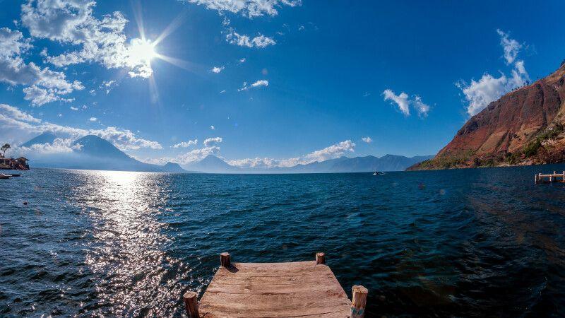 Atitlan-See, schönster See der Welt © Diamir