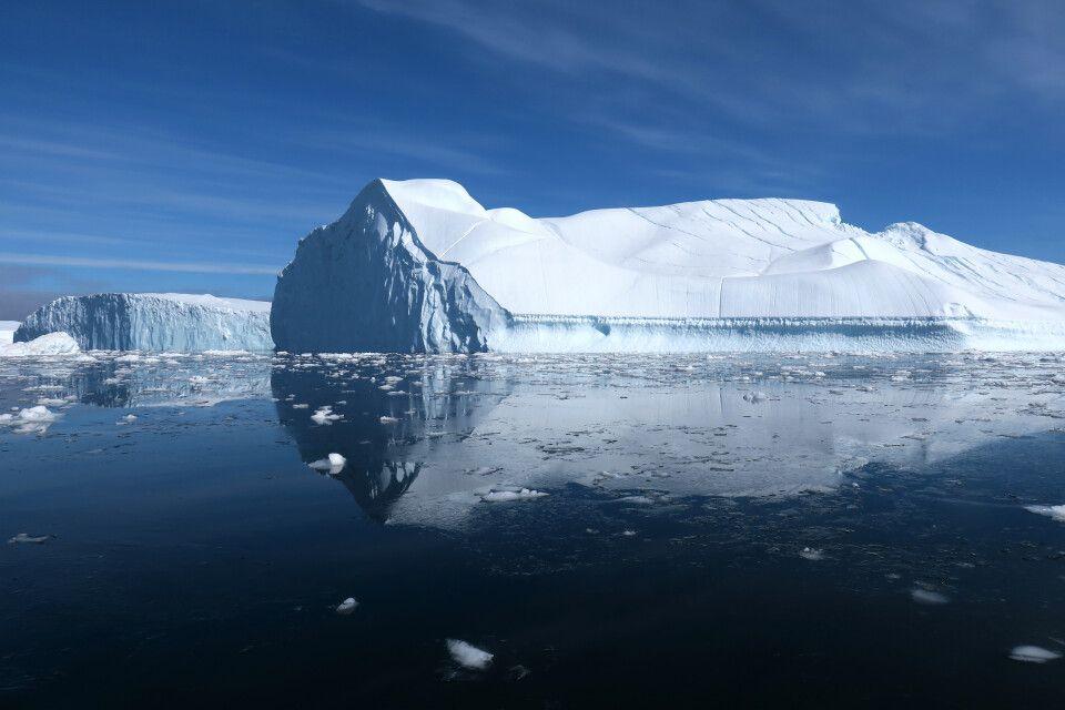 Die beeindruckenden Eisberge der Diskobucht